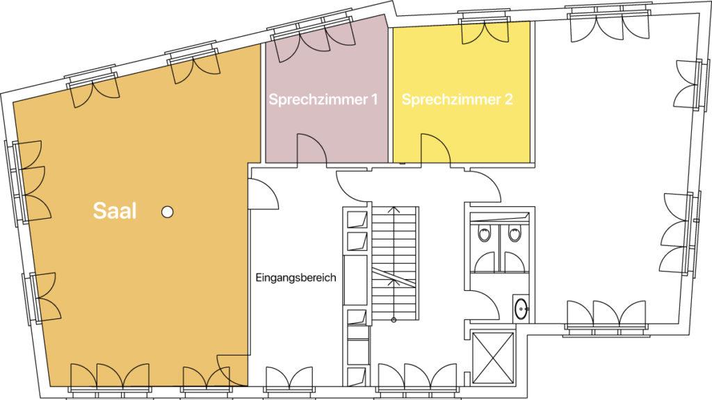 Raumvermietung Grossmünsterplatz 6 in Zürich